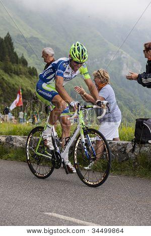 The Cyclist Paolo Longo Borghini
