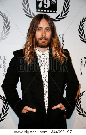 NEW YORK-JAN 6: Actor Jared Leto attends  the New York Film Critics Circle Awards at the Edison Ballroom on January 6, 2014 in New York City.