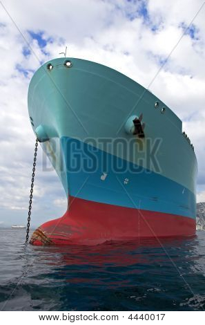 Bow Of The Lng Tanker