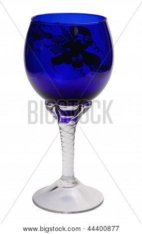 Blue Wineglass
