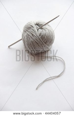 Gray Ball Of String