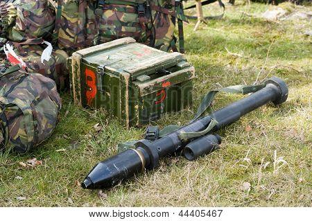 Bazooka On Ground