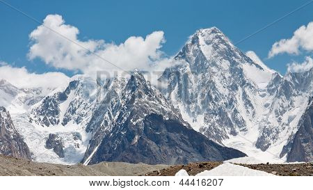Gasherbrum Iv, Karakorum, Pakistan