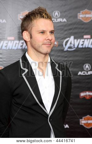 LOS ANGELES - APR 11:  Dominic Monaghan arrives at