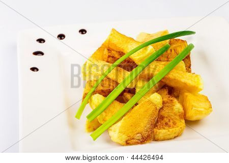 Slide Fried Potatoes