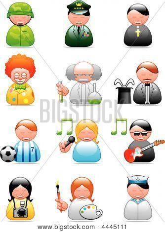 Berufe icons