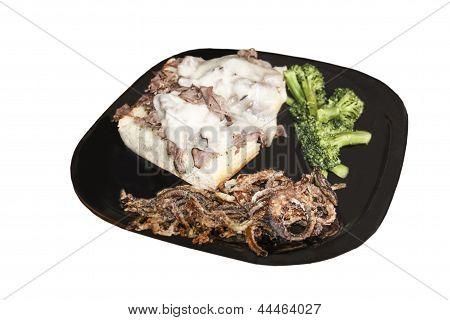 Open-faced Beef Sandwich