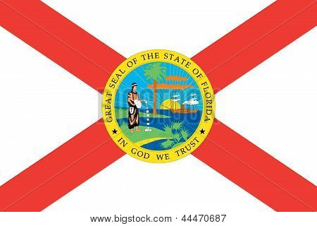 Flag of the American State of Florida