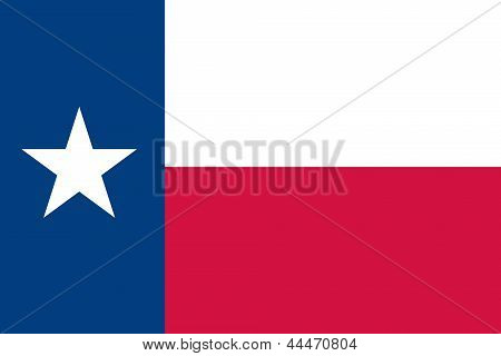 Flag of the American State of Texas