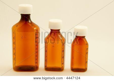 Mixed Medicine Bottles