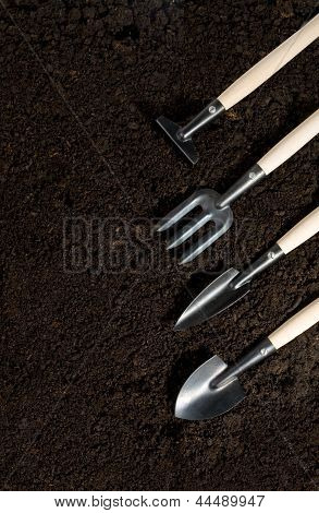 Gardening Tools And Peat