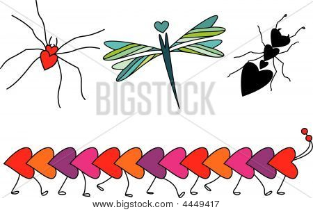 Insects In Love