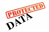 Your Data is now stamped as PROTECTED. poster