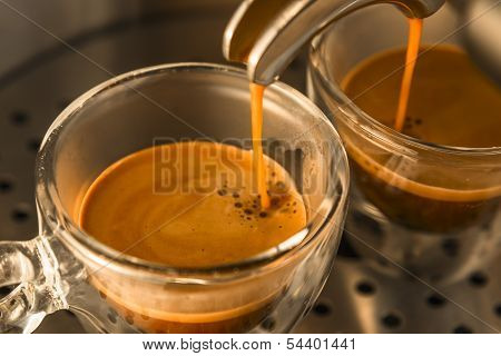 Mainstream Of Strong Espresso Coffee