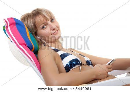 Having A Rest Girl