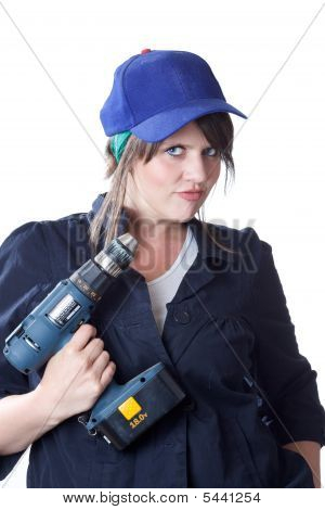 Construction woman