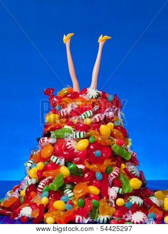 Head Over Heals In Candy