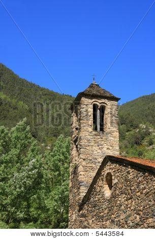 Sant Marti De La Cortinada (ordino, Andorra)
