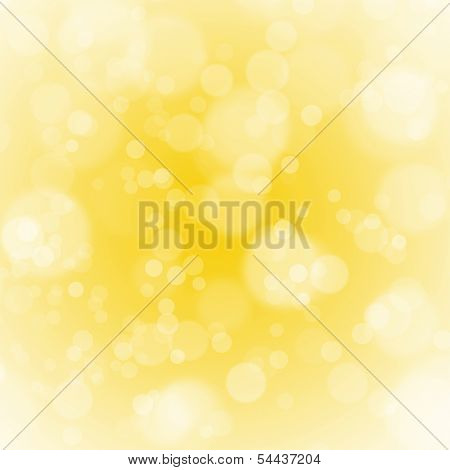 golden christmas background with bubbles