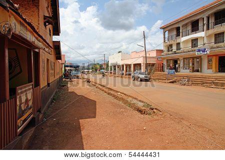 Tourist Street Of Masindi, Uganda