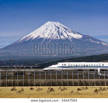 Mt. Fuji in Japan poster