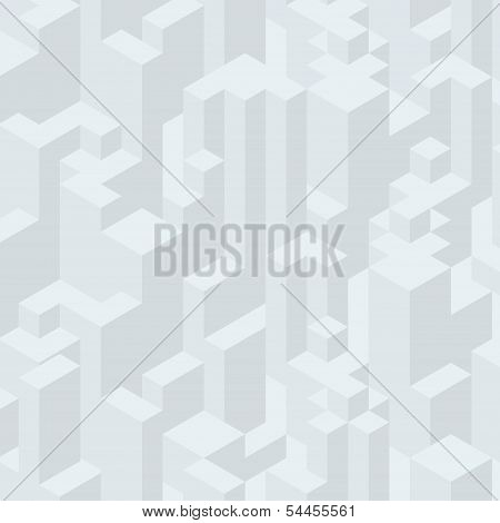 Abstract Isometric Background. Ready for Your Text and Design. poster