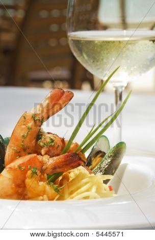 Shrimp And Oyster Spaghetti