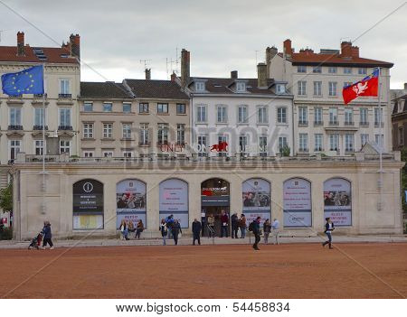 Only Lyon Tourist Information office at the Place Bellecour in Lyon