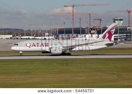 Qatar Boeing 787 Dreamliner