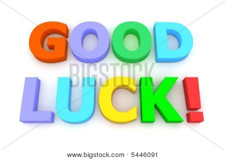 Colourful Good Luck