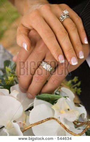 Hands At A Wedding