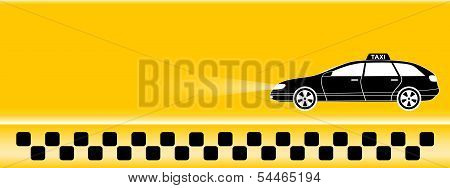 yellow taxi background