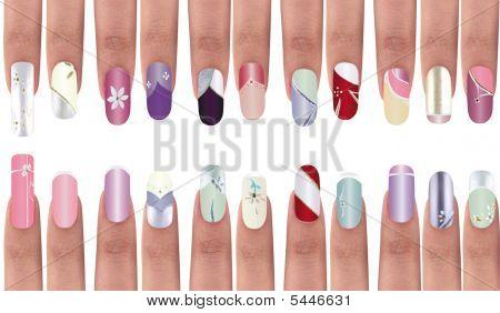 Finger nail