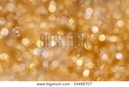 Festive background. Christmas and New Year feast bokeh background with copyspace poster