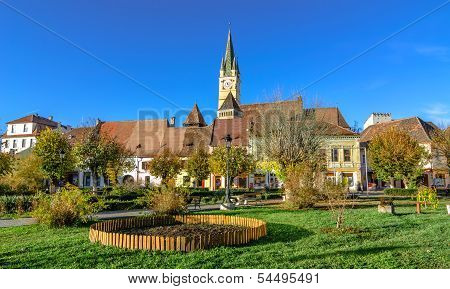 Medieval fortified church of Medias