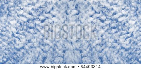 Cloudy Sky Altocumulus Cloudscape Background