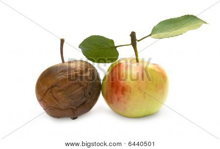 Ripe And Rotten Apple