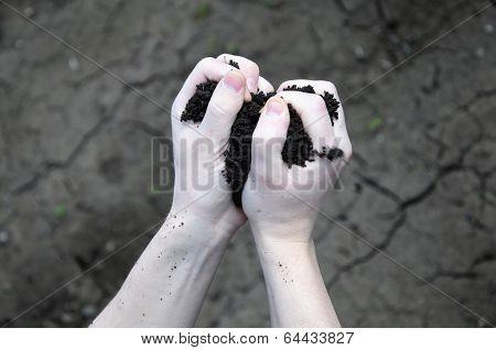 Soil Seeps Through Your Fingers