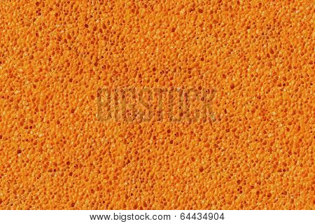 Sponge Porouse Foam Texture Seamless Background, Bubble Macro Of Fungous Spong Bast Fiber