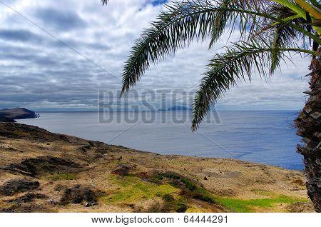 Landscape Of Sao Lourenco Peninsula On Madeira Island, Portugal