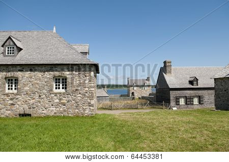 Buildings In Louisbourg