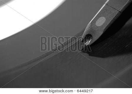 Closeup On Record