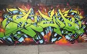 Graffiti at East Williamsburg neighborhood in Brooklyn