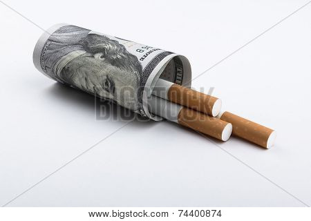 Cigarettes Smoking Concept.