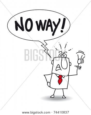 No way. Joe says No way. He is uncompromising