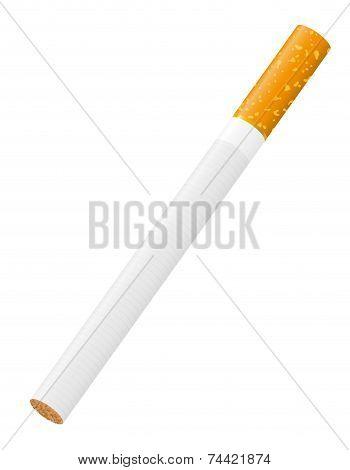 Cigarette Vector Illustration