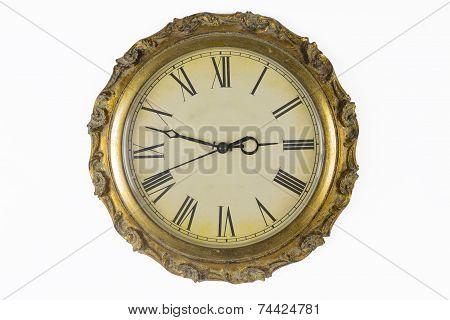 Historical wall clock