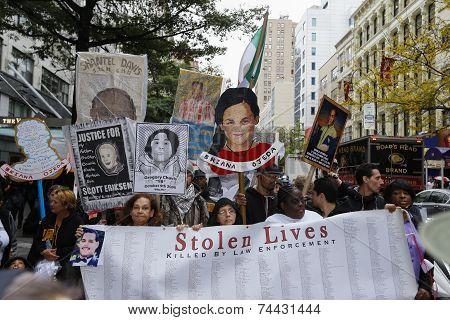 Stolen Lives banner