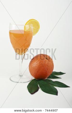 Orange And Juice.