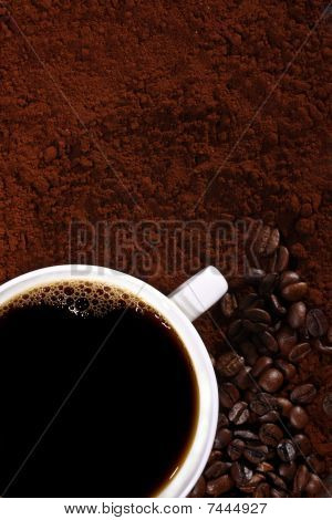 Coffee And Coffee Beans